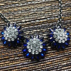 torrid Jewelry - Torrid Blue Silver Flower Necklace